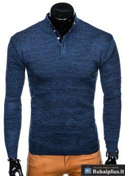 """Stilingas mėlynas vyriškas megztinis vyrams """"Aflek"""" internetu pigiau"""