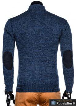Stilingas mėlynas vyriškas megztinis vyrams