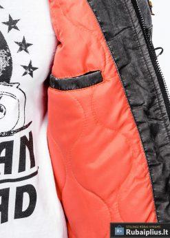 """stilinga Bomber stiliaus Pilka rudeninė-pavasarinė vyriška striukė vyrams """"Darvin"""" internetu pigiau"""