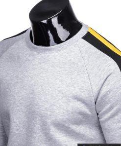 stilingas Pilkas vyriškas džemperis vyrams
