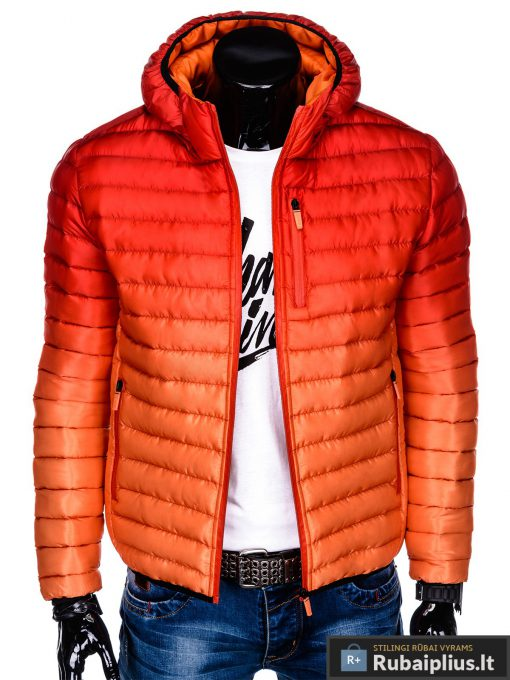 """stilinga Raudona rudens-pavasario vyriška striukė vyrams """"Fure"""" internetu pigiau"""