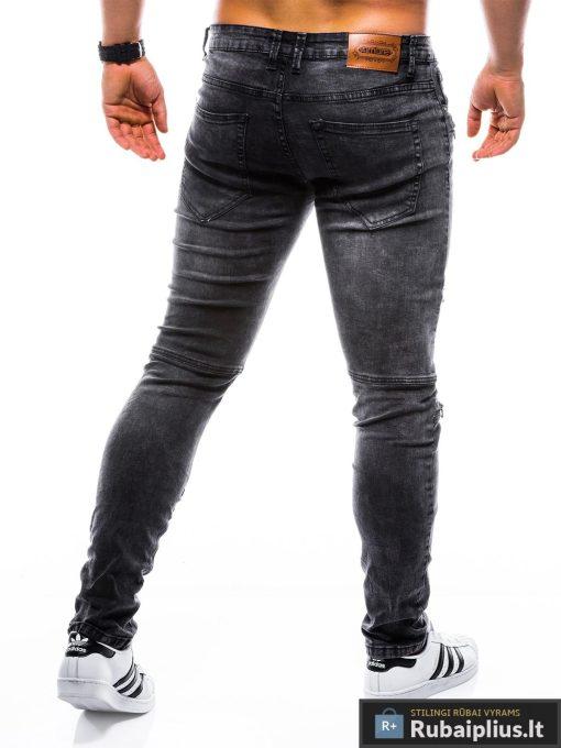 """P751J, stilingi vyriški Siaurinti juodi džinsai vyrams""""Ruwo"""" internetu pigiau"""
