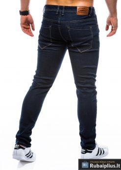 P752TM, stilingi vyriski Siaurinti tamsiai mėlyni džinsai vyrams