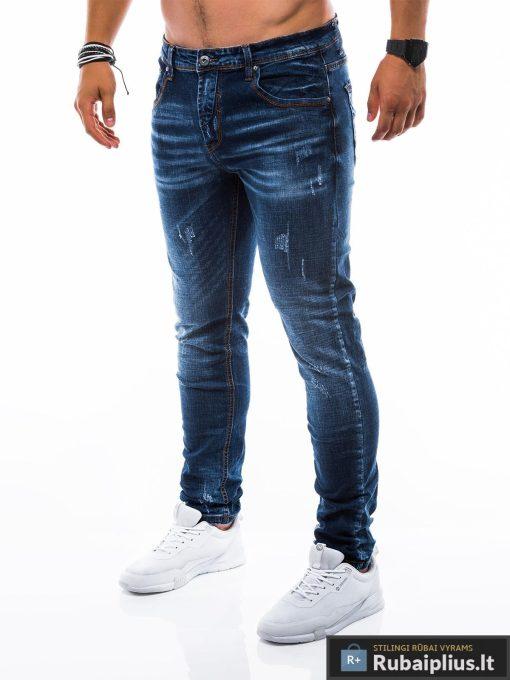 """vyriški Stilingimėlyni džinsai vyrams""""Gustav"""" internetu pigiau"""