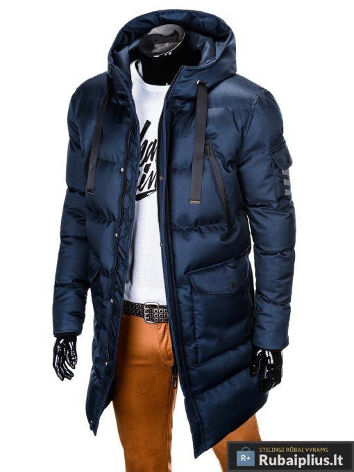 """stilinga Tamsiai mėlyna žieminėvyriška striukė """"Halk"""" internetu pigiau"""