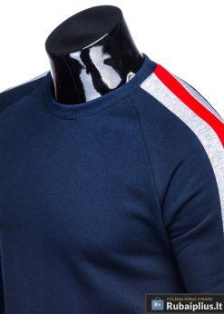 stilingas Tamsiai mėlynas vyriškas džemperis vyrams