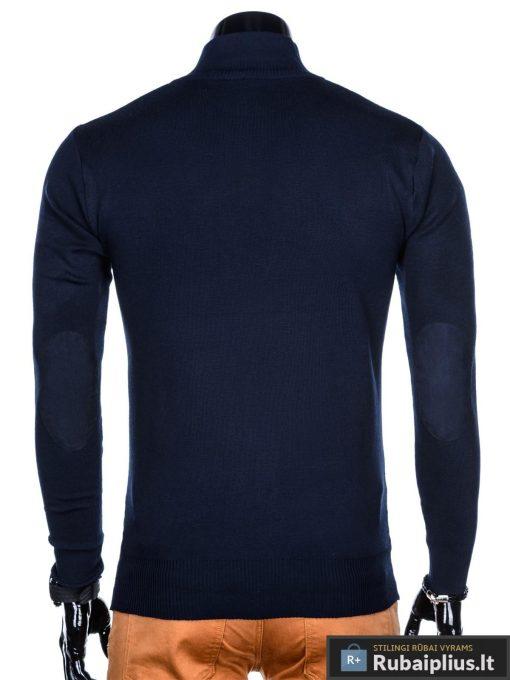 "Stilingas tamsiai mėlynas vyriškas megztinis vyrams ""Aflek"" internetu pigiau"
