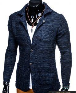 """Stilingas tamsiai mėlynas vyriškas megztinis vyrams """"Jufo"""" internetu pigiau"""