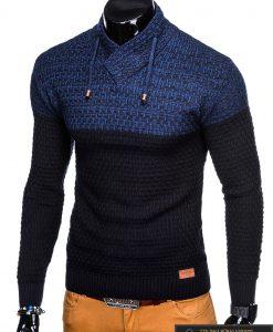 """Stilingas tamsiai mėlynas vyriškas megztinis vyrams """"Nadiro"""" internetu pigiau"""