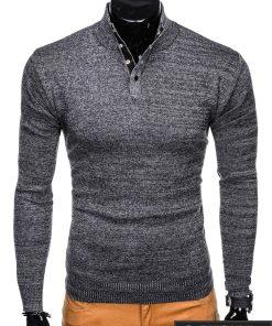 "Stilingas tamsiai pilkas vyriškas megztinis ""Aflek"" internetu pigiau"