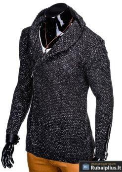 Stilingas pilkas vyriškas megztinis vyrams