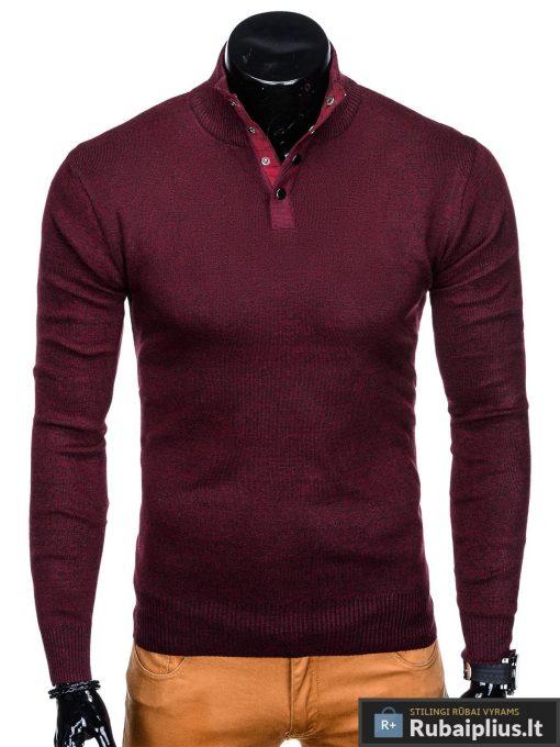 tamsiai-raudonas-vyriskas-megztinis-aflek-E140-1