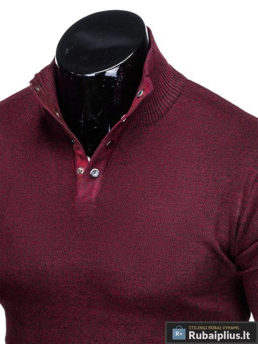 """Stilingas Tamsiai raudonas vyriškas megztinis vyrams """"Aflek"""" internetu pigiau"""
