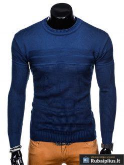 """madingas Vienspalvis mėlynas vyriškas megztinis vyrams """"Miko"""" internetu pigiau"""