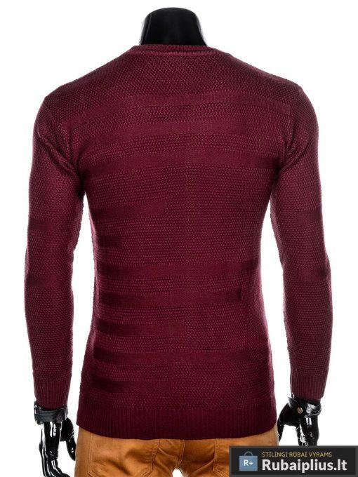 """madingas Vienspalvis tamsiai raudonas vyriškas megztinis vyrams """"Noriz"""" internetu pigiau"""
