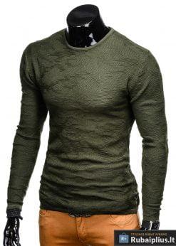 E115CH, Stilingas Chaki vyriškas megztinis vyrams