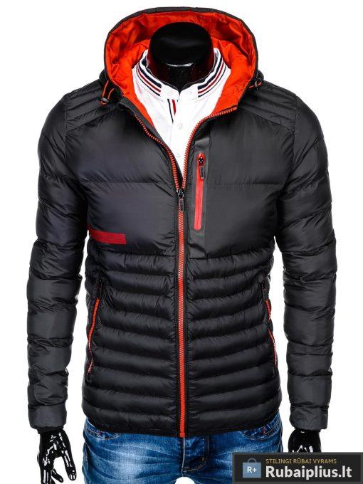 juoda-rudenine-pavasarine-vyriska-striuke-andro-C372-1