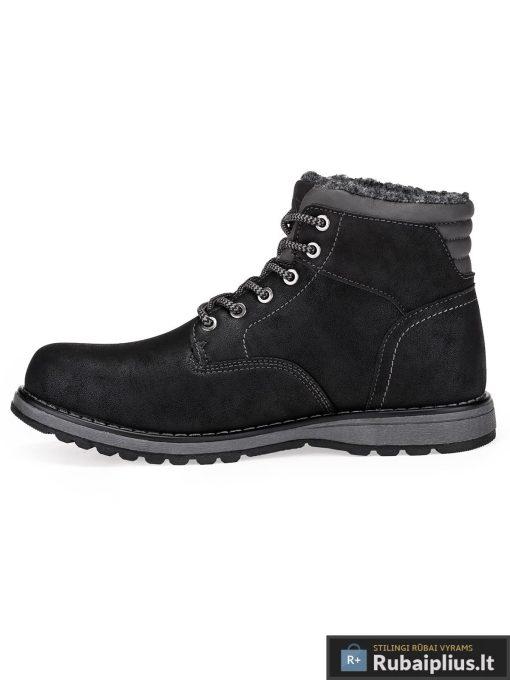 """T248J, stilingi vyriški Juodi žieminiai batai vyrams """"Futsi"""" internetu pigiau"""