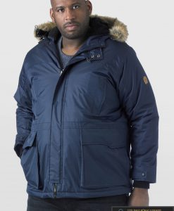 "KS13382TM, ALASKA tipo PARKA tamsiai mėlyna didelių dydžių žieminė vyriška striukė vyrams ""LOVETT"" internetu pigiau"