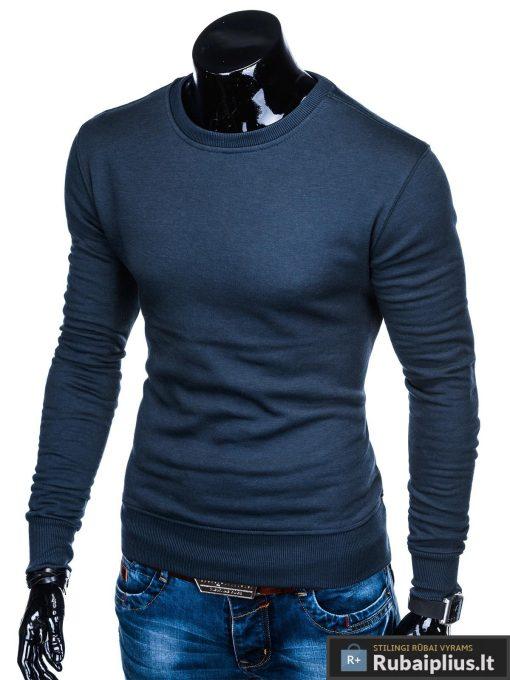 """B874TM, stilingas Tamsiai mėlynas vyriškas džemperis vyrams """"Hufi"""" internetu pigiau"""