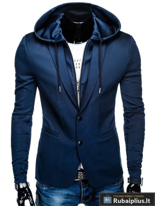 """M99TM, stilingas tamsiai mėlynas vyriškas džemperis-švarkas vyrams su gobtuvu""""Yvo"""" internetu pigiau"""
