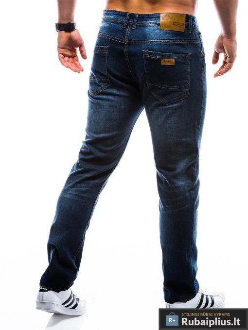 """P780, stilingi vyriski Tamsiai mėlyni klasikiniaidžinsai vyrams""""Rono"""" internetu pigiau"""