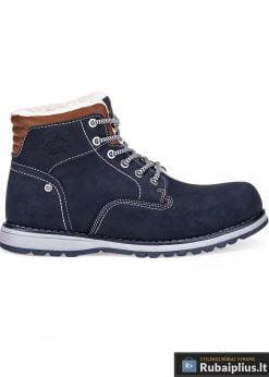 T248TM, stilingi vyriški Tamsiai mėlyni žieminiai batai vyrams