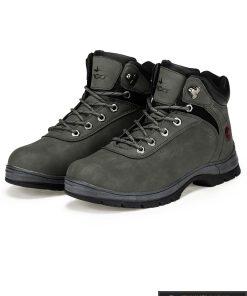 """T250TP, stilingi vyriški Tamsiai pilki žieminiai batai vyrams """"Raft"""" internetu pigiau"""