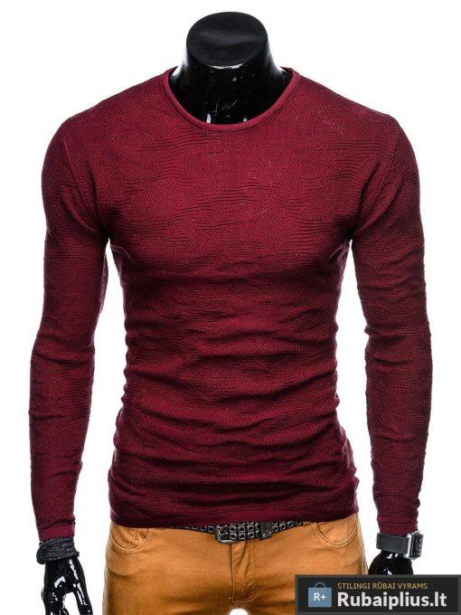 tamsiai-raudonas-vyriskas-megztinis-fram-E115-1