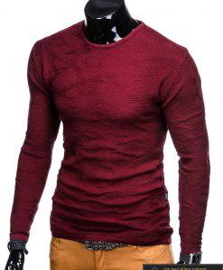 """E115TR, Stilingas tamsiai raudonas vyriškas megztinis """"Fram"""" internetu pigiau"""