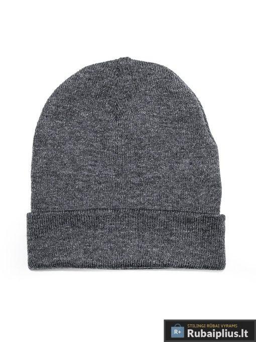 "vyriska Vienspalvė tamsiai pilka kepurė vyrams ""Fax"" internetu pigiau"