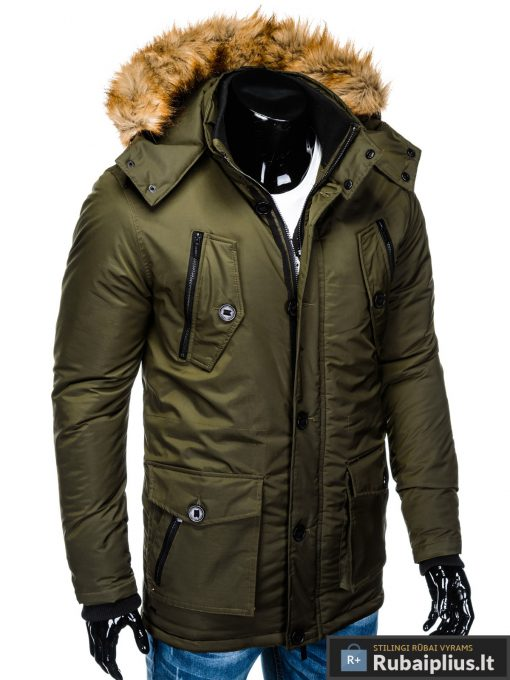 "C361CH, ALASKA tipo Chaki žieminė vyriška striukė vyrams ""Jursk"" internetu pigiau"