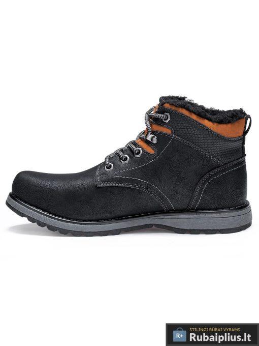 """T252J, vyriski Juodi žieminiai batai vyrams """"Forgin"""""""" internetu pigiau"""