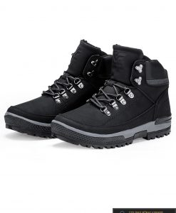"""vyriski laisvalaikio Juodi žieminiai batai vyrams """"Gelteo"""" internetu pigiau T256J"""