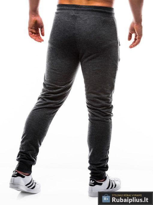 """P806J, vyriskos Juodos sportinės kelnės vyrams """"Hoks"""" internetu pigiau"""