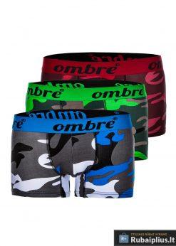 """U36, Įvairių spalvų vyriški kamufliažiniai apatiniai vyrams """"Ombre"""" (3 vnt. pakuotė) internetu pigiau"""