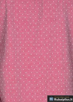 K430R, Taškuoti raudoni vyriški marškiniai ilgomis rankovėmisvyrams