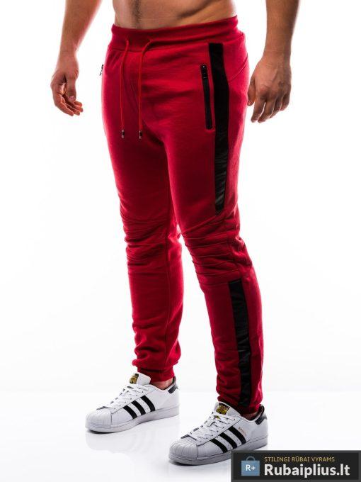 """P803R, stilingos vyriskos Raudonossportinėskelnės vyrams """"Indor"""" internetu pigiau"""