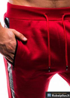 P803R, stilingos vyriskos Raudonossportinėskelnės vyrams