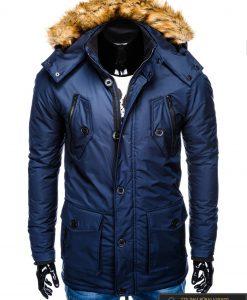 "C361TM, ALASKA tipo Tamsiai mėlyna žieminė vyriška striukė vyrams ""Jursk"" internetu pigiau"