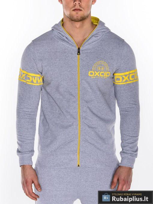 """Pilkas vyriškas sportinis kostiumas vyrams """"Oxcid"""" internetu pigiau Z10"""