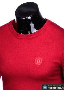 Stilingas Raudonas vyriškas megztinis vyrams internetu pigiau E122R