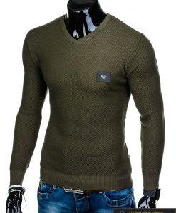 "stilingas elegantiškas Chaki vyriškas megztinis vyrams ""Vors"" internetu pigiau E147CH"