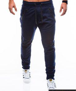 """madingos jogger tipo tamsiai mėlynoslaisvalaikiovyriškos kelnės vyrams """"Blansh"""" internetu pigiau P815TM"""
