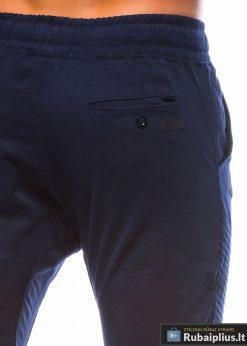 madingos jogger tipo tamsiai mėlynoslaisvalaikiovyriškos kelnės vyrams