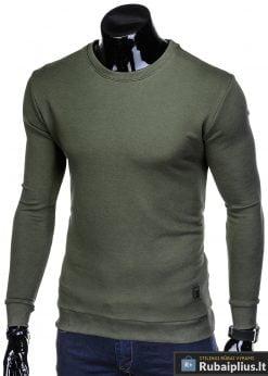 "stilingas vienspalvis chaki vyriškas džemperis vyrams be gobtivo ""Osam"" internetu pigiau B911CH"