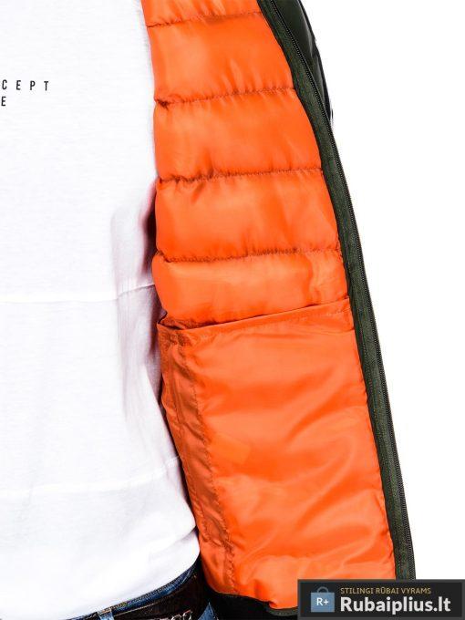 Stilinga chaki rudeninė-pavasarinė vyriška striukė vyrams Horton internetu pigiau C378CH vidus