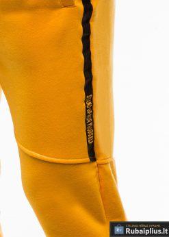 Stilingos vyriskos geltonos sportinÄ—s kelnÄ—s vyrams treningines internetu pigiau P743G Å¡onas