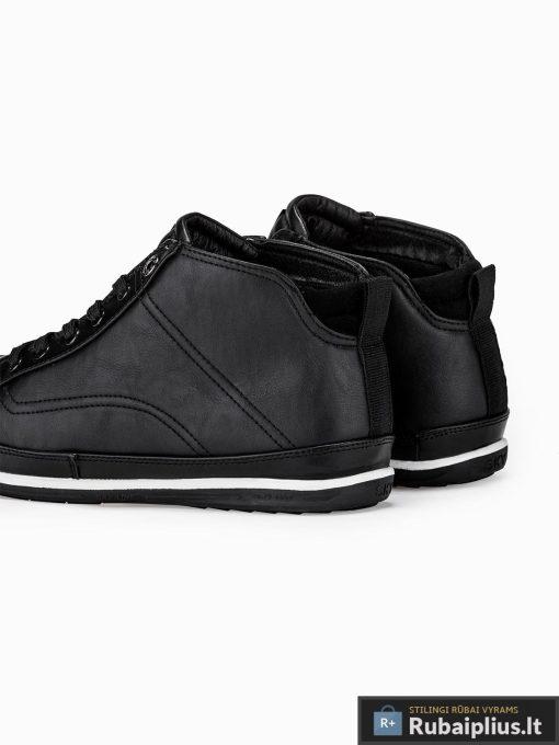"""stilingi vyriski juodi laisvalaikio batai vyrams """"Lamter"""" internetu pigiau T266J"""