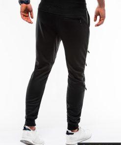 Vyriskos juodos sportinės kelnės vyrams internetu pigiau P746J nugara